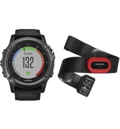 Мужские Garmin Fenix 3 Sapphire HR с черным браслетом HRM-Run (010-01338-74) с GPS