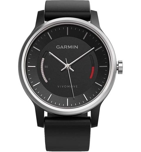 Garmin Vivomove Sport черные со спортивным браслетом (010-01597-00)