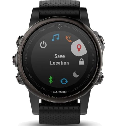 Garmin Fenix 5S Sapphire Black (010-01685-11)