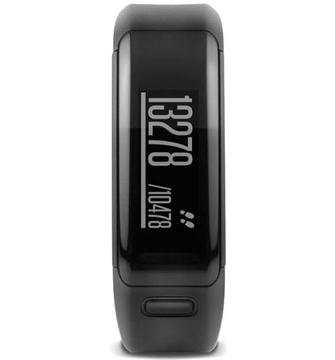 Garmin Vivosmart HR Black стандартного размера (010-01955-12)