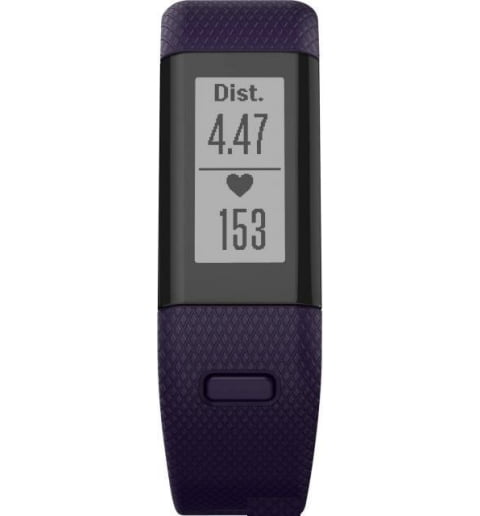 Garmin Vivosmart HR+ Purple (Фиолетовые) (010-01955-43)