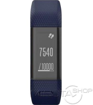 Garmin Vivosmart HR+ (синие) стандартного размера (010-01955-44)