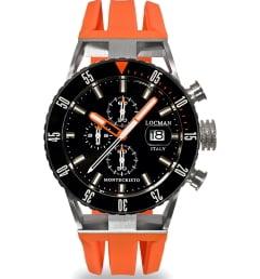 Часы Locman 051200KOBKNKSIO с каучуковым браслетом