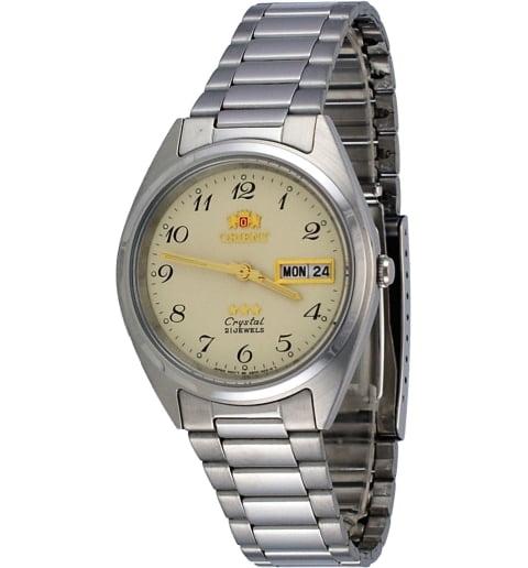 Недорогие мужские механические часы ORIENT AB00003C (FAB00003C9)