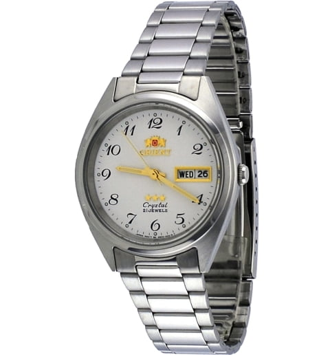 Недорогие мужские механические часы ORIENT AB00003W (FAB00003W9)