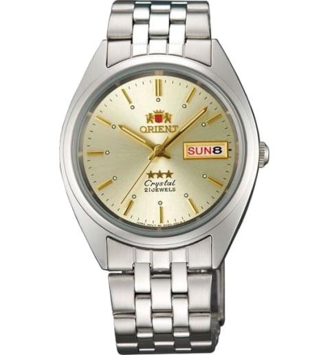 Недорогие мужские механические часы ORIENT AB0000AC (FAB0000AC9)