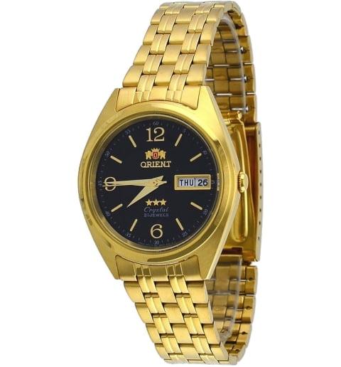 Недорогие мужские механические часы ORIENT AB0000CB (FAB0000CB9)