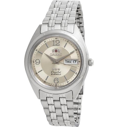 Недорогие мужские механические часы ORIENT AB0000EC (FAB0000EC9)