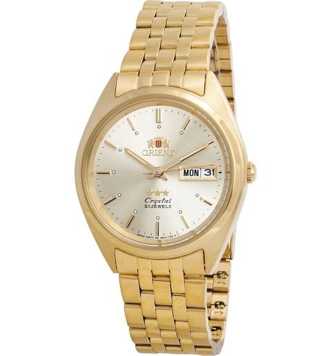 Недорогие мужские механические часы ORIENT AB0000FC (FAB0000FC9)