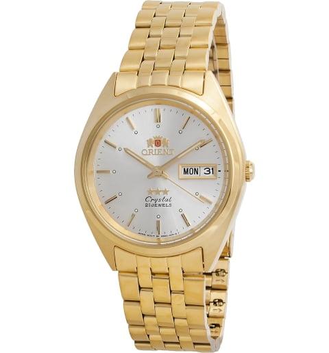 Недорогие мужские механические часы ORIENT AB0000FW (FAB0000FW9)