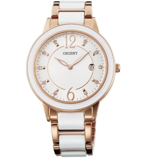 Женские часы ORIENT GW04002W (FGW04002W0) с камнями