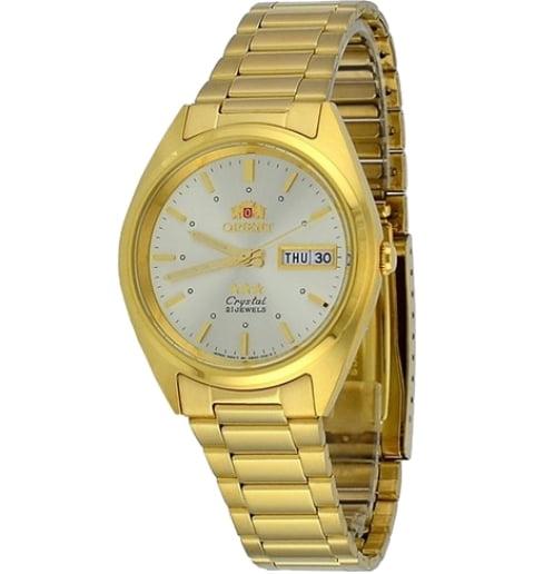Недорогие мужские механические часы Orient FAB00002C