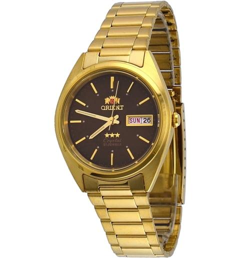 Недорогие мужские механические часы Orient FAB00004T