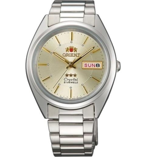Недорогие мужские механические часы Orient FAB00006C