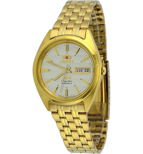 Недорогие мужские механические часы Orient FAB00008C