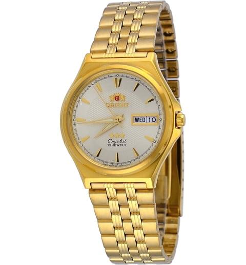 Недорогие мужские механические часы Orient FAB02001C