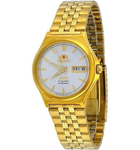 Недорогие мужские механические часы Orient FAB02001W