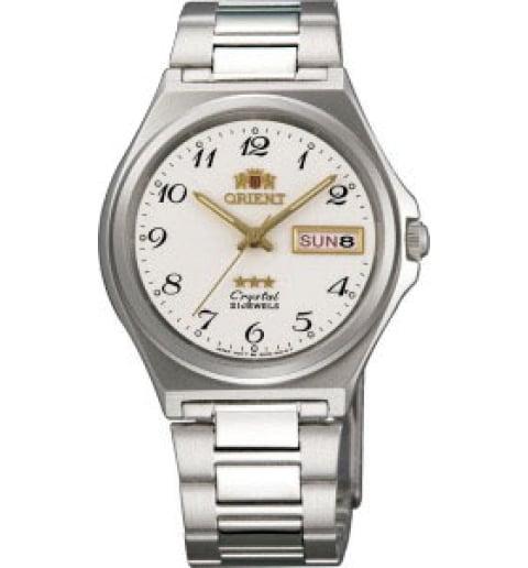 Недорогие мужские механические часы Orient FAB02004W