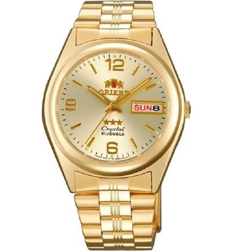Недорогие мужские механические часы Orient FAB04001C