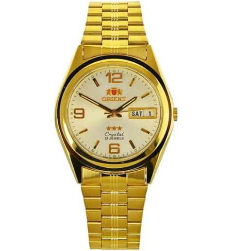 Недорогие мужские механические часы Orient FAB04001W