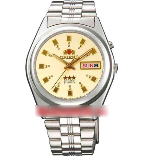 Недорогие мужские механические часы Orient FAB04003C