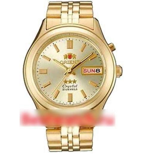 Недорогие мужские механические часы Orient FAB05001C