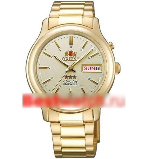 Недорогие мужские механические часы Orient FAB05003C