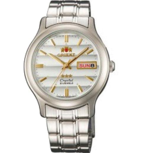 Недорогие мужские механические часы Orient FAB05005W