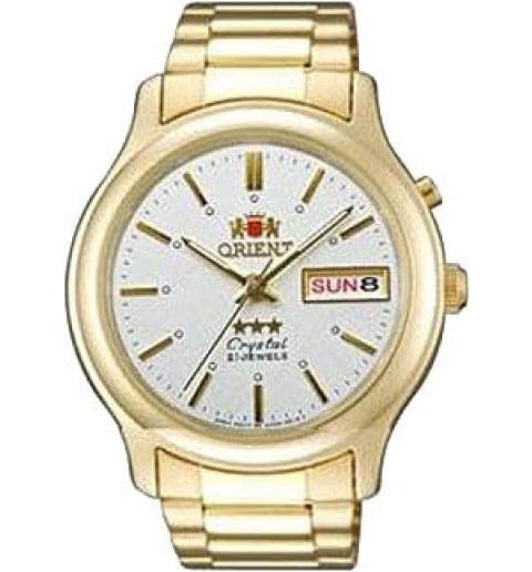 Недорогие мужские механические часы ORIENT EM0201WW (FEM0201WW9)