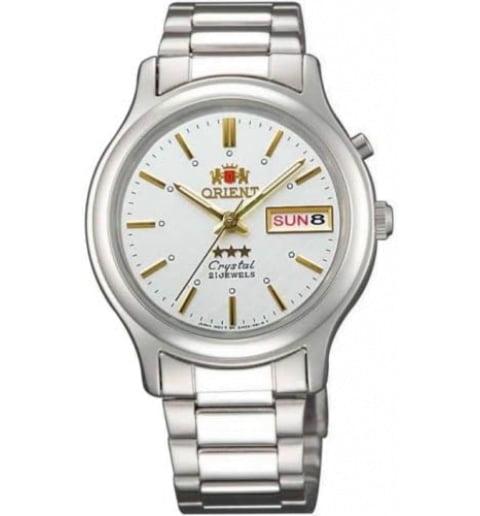 Недорогие мужские механические часы ORIENT EM02021W (FEM02021W9)