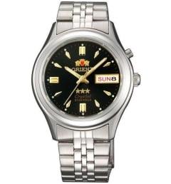 Недорогие мужские механические часы ORIENT EM0301WT (FEM0301WT9)
