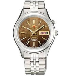 Недорогие мужские механические часы ORIENT EM0301XT (FEM0301XT9)
