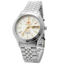 Недорогие мужские механические часы ORIENT EM0301XW (FEM0301XW9)