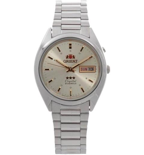 Недорогие мужские механические часы ORIENT EM0301ZW (FEM0301ZW9)