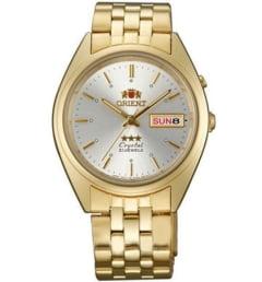 Недорогие мужские механические часы ORIENT EM0401JW (FEM0401JW9)