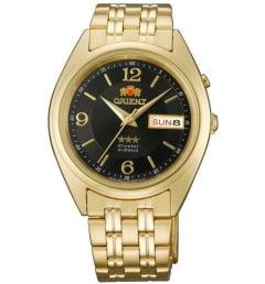 Недорогие мужские механические часы ORIENT EM0401KB (FEM0401KB9)