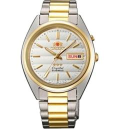 Недорогие мужские механические часы ORIENT EM0401MW (FEM0401MW9)