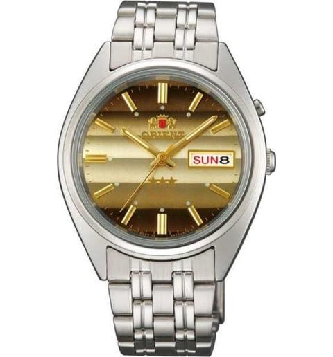 Недорогие мужские механические часы ORIENT EM0401PU (FEM0401PU9)