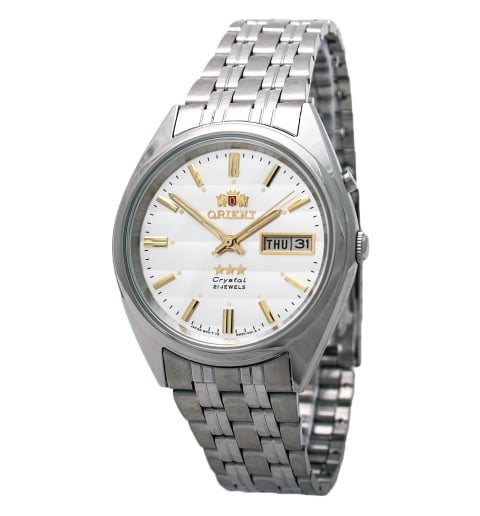 Недорогие мужские механические часы ORIENT EM0401PW (FEM0401PW9)