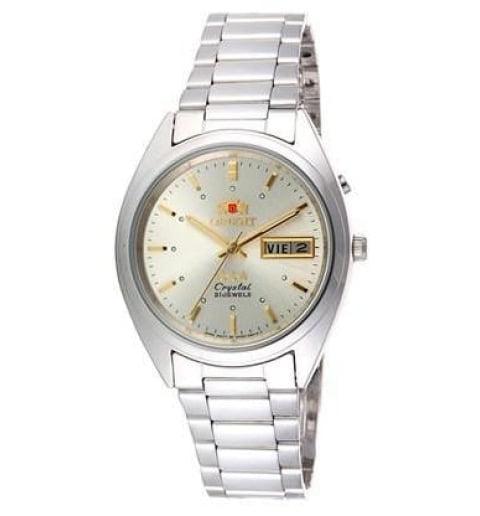 Недорогие мужские механические часы ORIENT EM0401QC (FEM0401QC9)