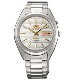 Недорогие мужские механические часы ORIENT EM0401SW (FEM0401SW9)