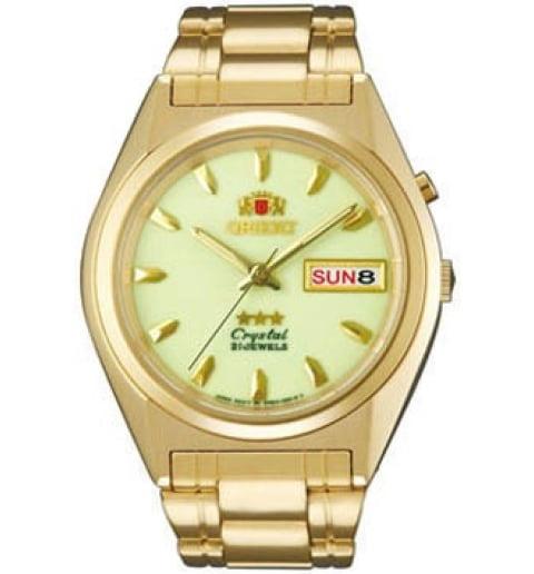 Недорогие мужские механические часы ORIENT EM0501GR (FEM0501GR9)