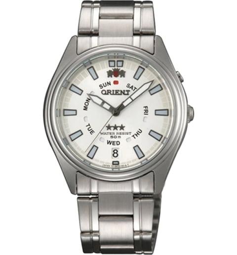 Недорогие мужские механические часы ORIENT EM5J00XW (FEM5J00XW9)