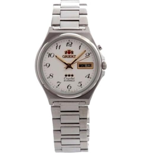 Недорогие мужские механические часы ORIENT EM5M014W (FEM5M014W9)