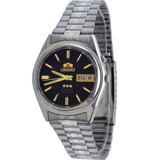 Недорогие мужские механические часы ORIENT EM6Q00DB (FEM6Q00DB9)