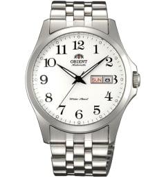 Недорогие мужские механические часы ORIENT EM7G002W (FEM7G002W9)
