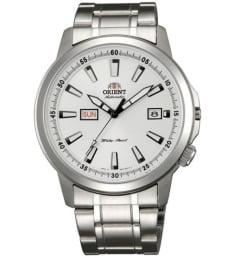 Недорогие мужские механические часы ORIENT EM7K006W (FEM7K006W9)