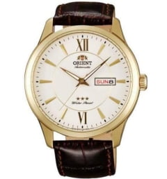Недорогие мужские механические часы ORIENT EM7P005W (FEM7P005W0)