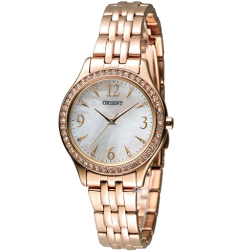 Женские часы ORIENT QC10001W (FQC10001W0) с камнями