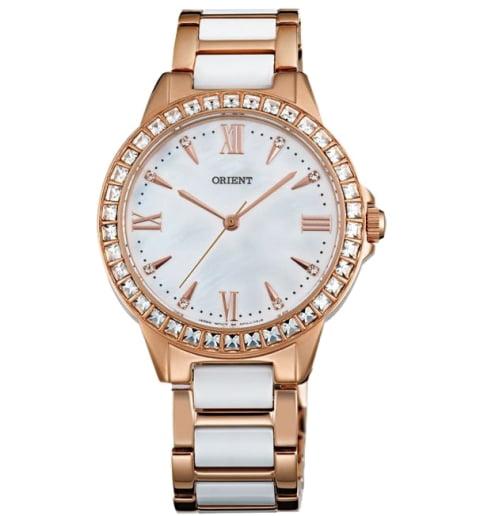 Женские часы ORIENT QC11001W (FQC11001W0) с камнями